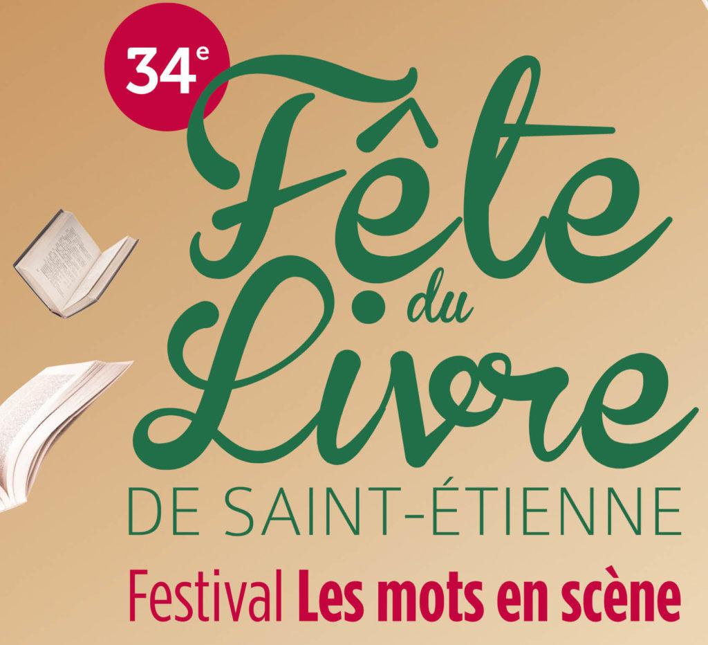 Logo de la fête du livre de Saint-Etienne