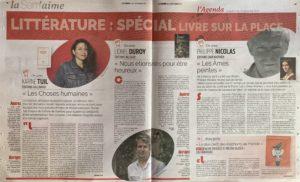 """article de Céline Lutz, journaliste, sur Les Âmes peintes : """"Après la lecture des Âmes peintes, vous ne visiterez plus jamais un musée comme avant"""""""