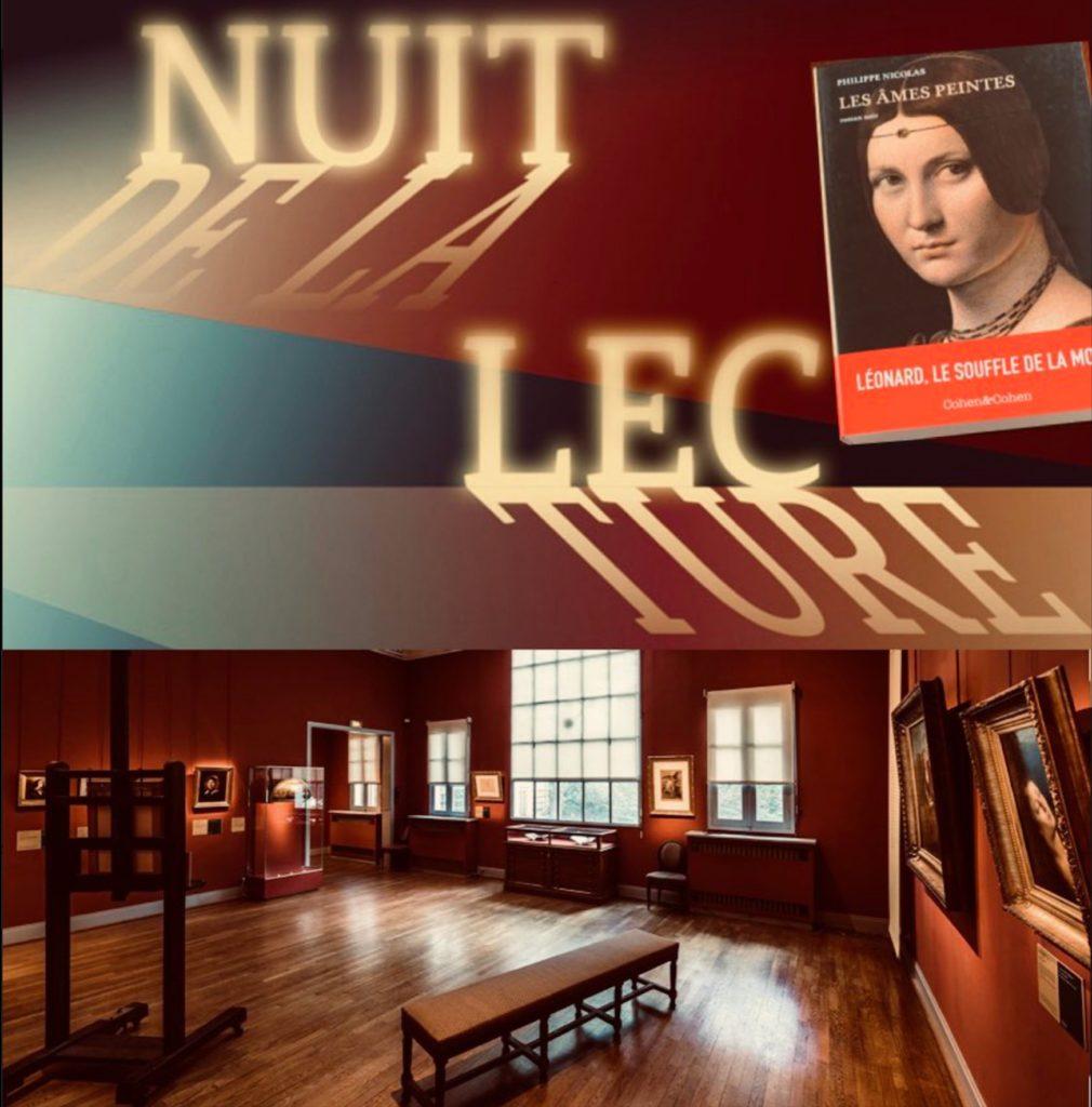 La nuit de la lecture au Musée Delacroix à Paris